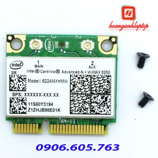 Card wifi laptop INTEL ADVANCEDN WiMAX 6250  300mbps DUAL BAND