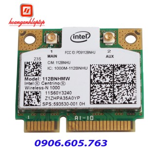 Card wifi laptop Intel Centrino Wireless N-1000 112BNHMW PCIE WIFI Wlan Card