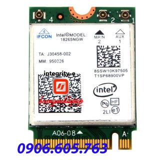 Card wifi laptop Intel Triband Wireless AC18265 M.2 867Mbps WiFi+Bluetooth 4.2