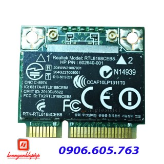 Card wifi laptop Realtek RTL8188CEB8 Wireless WIFI WLAN card BlueTooth